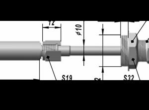 Термопреобразователь сопротивления платиновые ТСП 0501