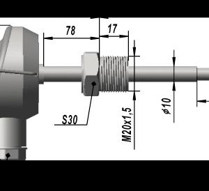 Термопреобразователь сопротивления платиновые ТСП 9307