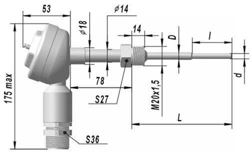 ТСП 9418, ТСМ 9418 термопреобразователь сопротивления взрывозащищенные